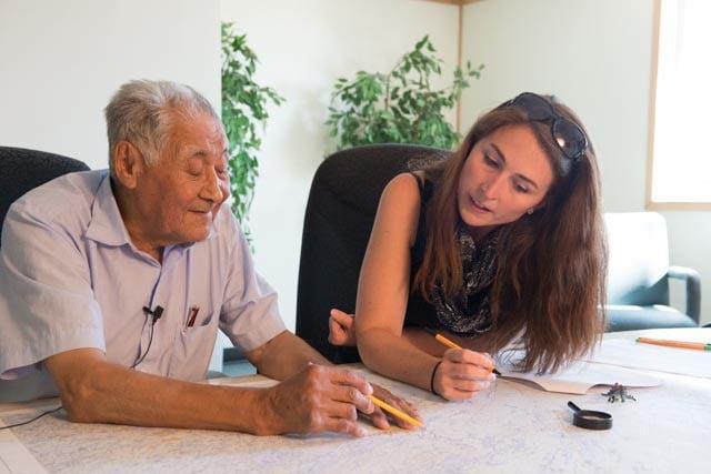 BEAHR Instructor Nichole Fraser-MacDonald with Pimicikamak Elder