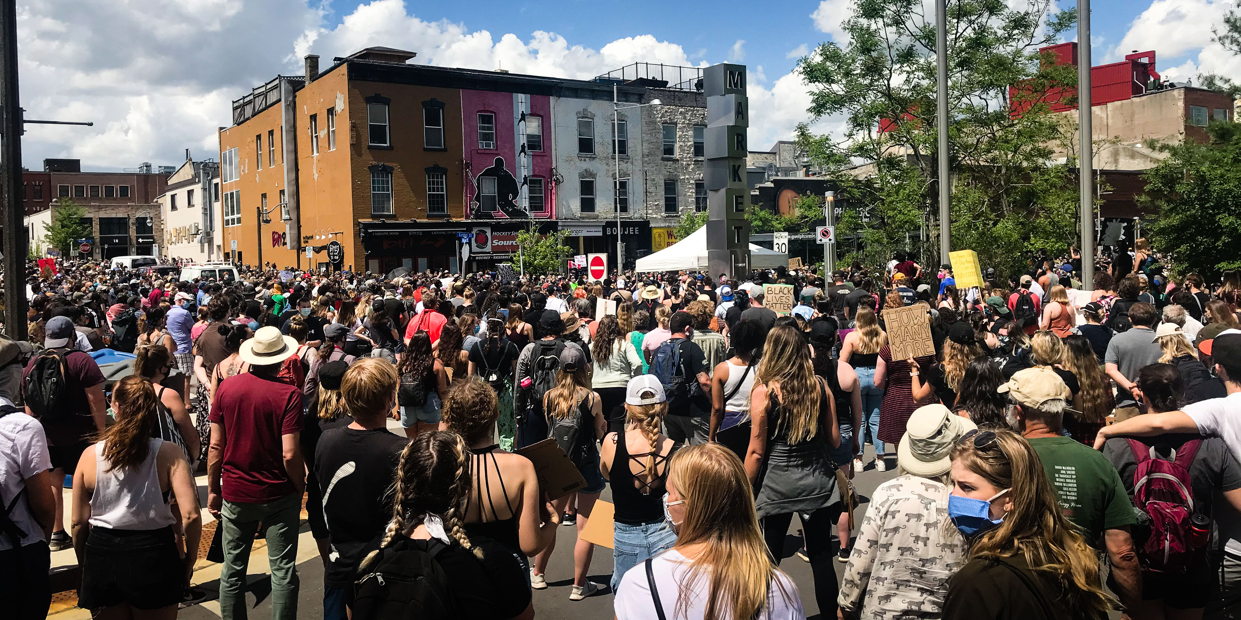 BLM Protest in Guelph